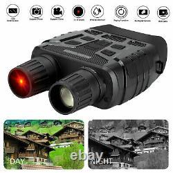 Digital Night Vision Infrared Hd Zoom Vidéo Chasse Binocular Scope Ir Camera Us