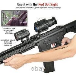 Digital Night Vision Rifle Scope Monocular Binocular Ir Casque Caméra De Télescope