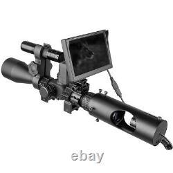 Diy Numérique De Vision Nocturne Pour Riflescopes Avec Torche Led Ir 850nm