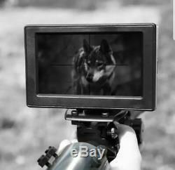 Diy Numérique De Vision Nocturne Pour Scope Fusil De Chasse Avec Caméra Et Écran 4.3 Nouveau