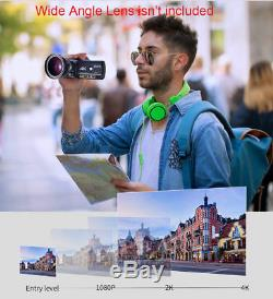 Enregistreur De Caméscope Infrarouge Professionnel Ordro Ac3 Digital 4k Camera Wifi Professional