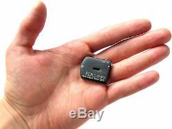 Enregistreur Vocal Numérique Micro Edic-mini Minuscule + B76 Spy Noir 4 Go Edic-150hq