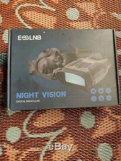 Esslnb Vision Nocturne Jumelles 1300ft Numérique De Vision Nocturne Infrarouge 7x31