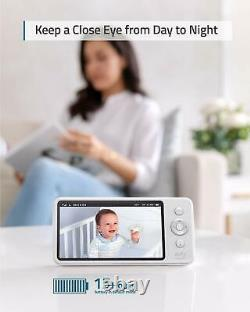 Eufy Security 5 Wireless Video Baby Monitor Pt Caméra 2-way Audio Night Vision