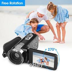 Full Hd 1080p 24mp LCD 16x Night Vision Caméscope Numérique Caméra DV U