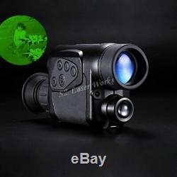 Gen2 Numérique Monoculaire Infrarouge Jour Lunettes De Vision Nocturne 6x32 Hd Voir Telescope