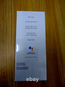 Google Nest Bonjour Smart Video Doorbell Hd Security Camera Night Vision