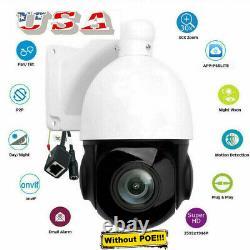 H. 265 Ptz Ip Camera 5mp Super Hd 2592x1944 Pan/tilt 30x Zoom Speed Dome Caméras