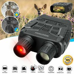 Hd Digital Night Vision Infrared Hunting Binocular Scope Ir Camera Jumelles B+