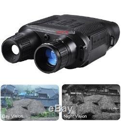 Hd Numérique De Vision Nocturne Infrarouge Chasse Binoculaires Portée Jumelles Ir Camera