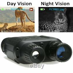 Hd Numérique De Vision Nocturne Infrarouge Chasse Jumelles Portée Ir Vidéo Zoom