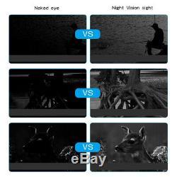 Hd Vidéo Numérique De Vision Nocturne Infrarouge De Chasse Jumelles Portée Ir Zoom Caméra