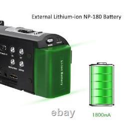 Hdr-ae8 4k Hd 3.0 Pouces À Écran Tactile Wifi 16x Vidéo Numérique Caméra De Vision Nocturne
