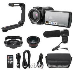 Hdr-ae8 4k Hd 3.0 Pouces Écran Tactile 16x Wifi Caméra Vidéo Numérique Vision Nocturne