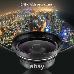 Hdr-ae8 4k Hd 3 Écran Tactile 16x Wifi Digital Video Camera Night Vision Hot