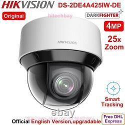 Hikvision Darkfighter Ds-2de4a425iw-de 4mp 25x Ptz Caméra Ip Poe + Smart-suivi