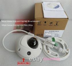 Hikvision Ds-2cd2563g0-is 6mp Caméra Dôme Exir H. 265+ Wdr Poe Réseau P2p 4 MM