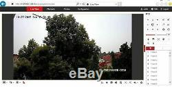 Hikvision Ds-2de2a404iw-de3 / W 4mp Ptz Caméra MIC Wifi Ds-remplacement 2de2a404iw-de3