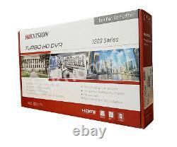 Hikvision Ds-7208hqhi-k1 4mp 8ch Hd-tvi Dvr + 4ch Ip Jusqu'à 12ch Au Total H. 265+