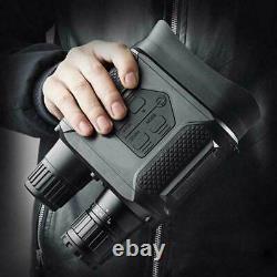 Infrarouge Binocular Numérique De Vision Nocturne Haute Définition Nv400-b W7v2
