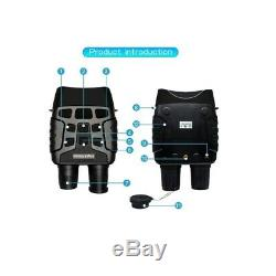 Infrarouge Jumelles De Vision Nocturne Portable Numérique Hd Caméra Ir 0,3m Enregistrement
