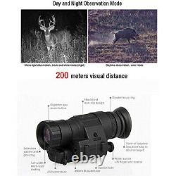 Ir Digital Night Vision Scope Monocular 200m Infrared Device Hunting Camera