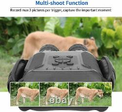 Jumelles Bestguarder Night Vision, 4.5-22.5×40 Hd Digital Infrared Hunting