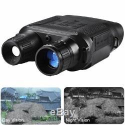 Jumelles De Vision Nocturne Hd Chasse Numérique Infrarouge Ir Portée Binocular Camera Us