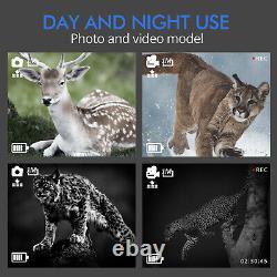 Jumelles Vision Nocturne Appareil Photo Infrarouge Numérique Avec Écran LCD Pour La Chasse