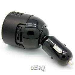 Lawmate Ir Night Vision Usb Chargeur Allume-cigare Caméra De Sécurité Cachée Dvr Taxi Audio