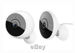 Logitech Cercle 2 Filaire / Sans Fil Indooroutdoor Weatherproof Accueil Caméra De Sécurité