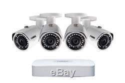 Lorex 2tb Digital Ip Caméra De Sécurité Système Hd Nightvision 2k Caméras Résolution
