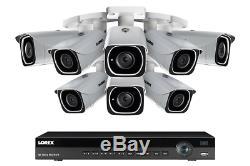 Lorex 2tb Digital Système De Caméra De Sécurité Ip Nvr Couleur Night Vision 4k 8 Caméras