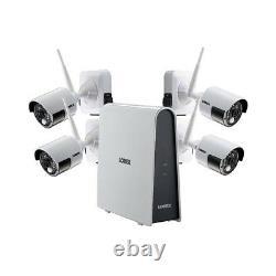 Lorex 4 Camera Hd Sans Fil Système De Sécurité, 6 Canaux Dvr, 16gb Hdd Niob