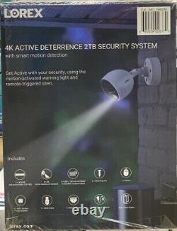 Lorex 4k Ultra Hd 8 Canaux Dvr 2tb 6 4k Active Dissuasion Caméras De Sécurité