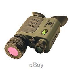 Luna Optics 6-30x50 Gen-2 / Jour Numérique Jumelles De Vision Nocturne Avec Double Affichage Hr
