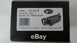 Luna Optique Hd Jour / Nuit Numérique Vision Monoculaire Ln-g3-m
