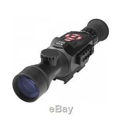 Lunette De Visée Pour Fusil 5-20x Vision Nocturne Numérique Atn X-sight II Smart Hd Dgwsxs520z