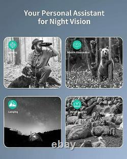 Lunettes De Vision De Nuit, 984 Ft Jumelles De Vision De Nuit Infrarouge Numérique Portée