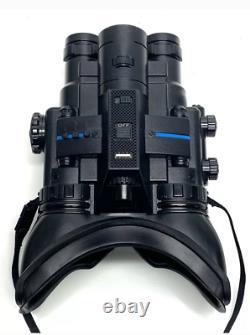 Lunettes De Vision Nocturne Jumelles Infrarouges Recordable Haut/bas Illuminateur Ir