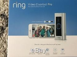Marque Nouveau Ring Smart Pro Vidéo Sonnette Pro Vision Surveillance 1080p Nuit 24/7
