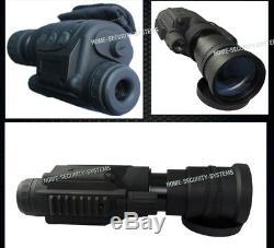 Master Digital Nv Lunettes De Vision Nocturne Ir Caméra De Sécurité Monoculaire Gen Tracker