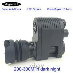Megaorei3 Digital Night Vision Scope Monoculaire Caméra De Chasse 850 Ir Lampe De Poche