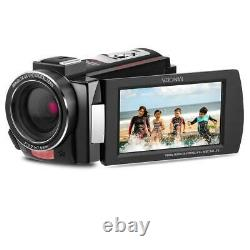 Minolta Mn4k20nv 4k Ultra Hd 3 Caméscope À Écran Tactile Avec Vision Nocturne