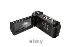 Minolta Mn4k20nv 4k Ultra Hd 3 Caméscope Écran Tactile Avec Vision Nocturne