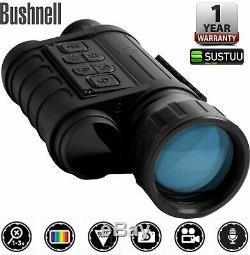 Monoculaire De Vision Nocturne Numérique Bushnell Equinox Z, 6 X 50 Mmimage Capture260150