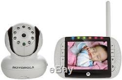 Motorola Mbp36 Vidéo Numérique Sans Fil Baby Monitor Withnight Vision Et Nouvelle Télécommande
