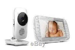 Motorola Mbp48 5 Pouces LCD Couleur 2 Voies Vidéo Baby Monitor Night Vision, Temp