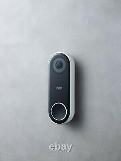 Nest Hello Smart Wi-fi Video Doorbell (nc5100us)