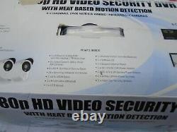 Night Owl 1080p Hd Dvr Withheat Detection 8ch - 8 Caméras De Sécurité C-881-pir1080
